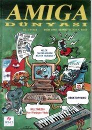 Amiga Dunyasi - Sayi 05 (Ekim 1990).pdf - Retro Dergi