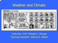 Weather and Climate - Atmospheric and Oceanic Sciences