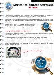 Montage Allumage électronique 6v - Mehari 2 CV Club