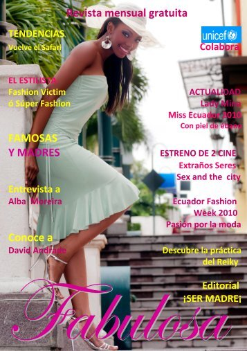 Revista mensual gratuita FAMOSAS Y MADRES ... - fabulosarevista