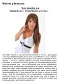 Revista mensual gratuita FAMOSAS Y MADRES ... - fabulosarevista - Page 5