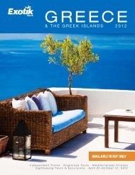 greece 2012 - Exotik Tours