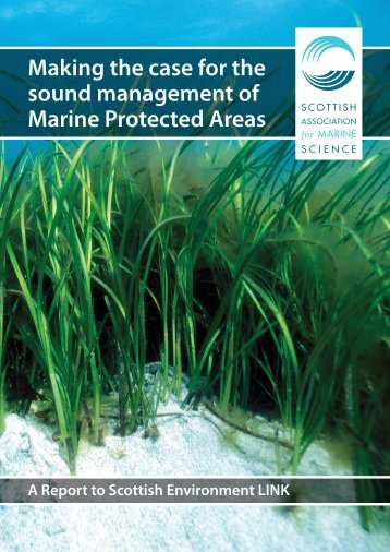 Making the case for the sound management of Marine Protected Areas