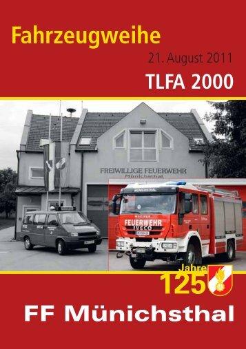 TLFA 2000 - Freiwillige Feuerwehr Münichsthal
