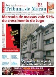 Mercado de massas vale 51% do crescimento do Jogo - JTM