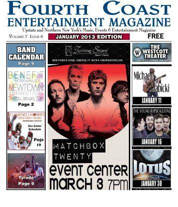 January Issue - Fourth Coast Entertainment Magazine