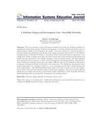 A Database Design and Development Case: NanoTEK Networks