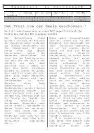 Den Frust von der Seele geschossen ! - RSV Steinbach-Dörsdorf