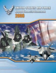 FY08 Title Page - Air Force Financial Management & Comptroller
