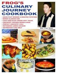 frog's culinary journey cookbook - Paul J Hamel Official Website All ...