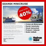 GDANSK MINICRUISE - Det Faglige Hus