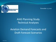 AIAS Forecast Presentation November 15, 2012 - PDC Projects Online