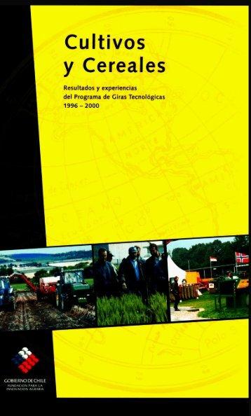 Cultivos Cereales - Biblioteca Digital de FIA