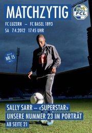 Ausgabe 15 - FC Luzern