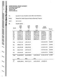 July 2012 Board Packet - Metro Regional Transit Authority