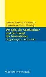 Leseprobe als PDF - Vandenhoeck & Ruprecht