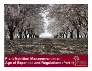 Plant Nutrition Management in an Age of Expenses and Regulations