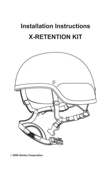 x liner u00ae helmet comfort liner gentex corporation Omega Alarm Wiring Diagrams RJ45 Wiring -Diagram