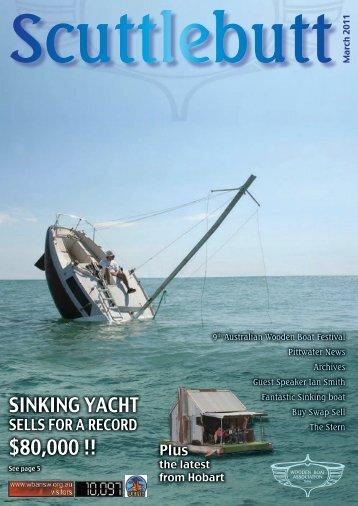 $80,000 !! - Wooden Boat Association NSW