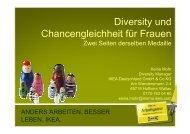 Diversity und Chancengleichheit für Frauen