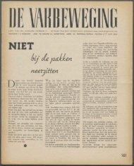 (1940) nr. 11 - Vakbeweging in de oorlog