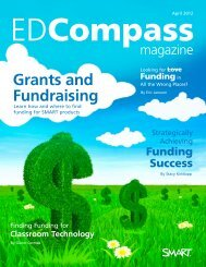 Grants and Fundraising - SMART Technologies