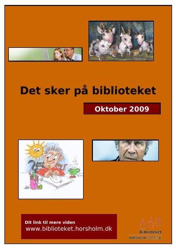Det sker på biblioteket - Hørsholm Bibliotek