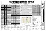 ONLINE PLANS/6207 Harbor Freight Tools ... - Sierra Plan Room