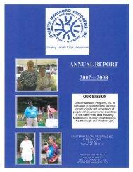 annual report - Greater Marlboro Programs, Inc.