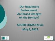 Form F - 2014 ACORD LOMA Forum