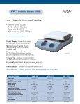 VWR Hotplate Stirrers - Sites - Page 3
