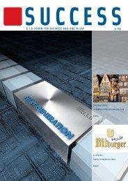 G.I.B Kundenzeitschrift SUCCESS 2-09