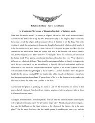 1 Religious Gatheka – Hazrat Inayat Khan 34 Winding the ...