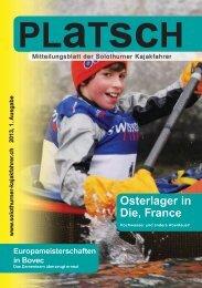 platsch 1/2013 - Solothurner Kajakfahrer