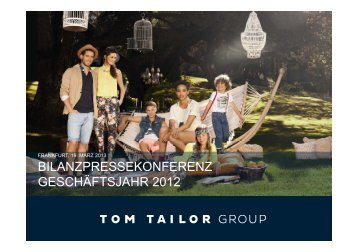bonita - Tom Tailor - TOM TAILOR GROUP