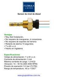 fozmula diesel.pdf - Grupo IDIMEX