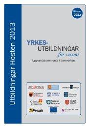 hösten 2013 - Navet Utbildning - Uppsala kommun