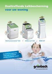 Brochure Grunbeck waterverzachter - GoLanTec