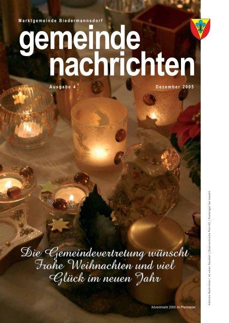 Datei herunterladen - .PDF - Biedermannsdorf