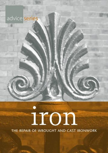 Iron - The repair of Wrought and Cast Ironwork - Dublin City Council