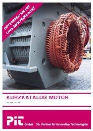 KURZKATALOG MOTOR - PiT GmbH