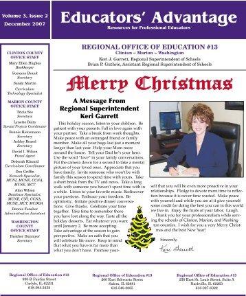 December 2007 - ROE #13
