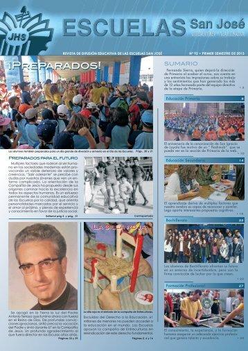 Revista del centro - Escuelas San José