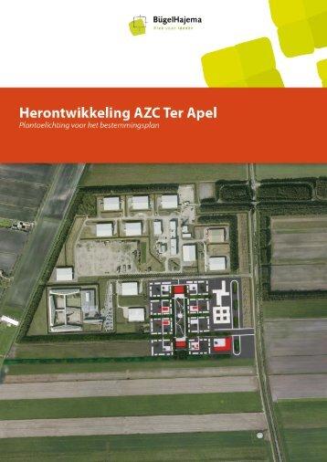 Bijlage 1 Herontwikkeling AZC Ter Apel, toelichting nieuwe opzet