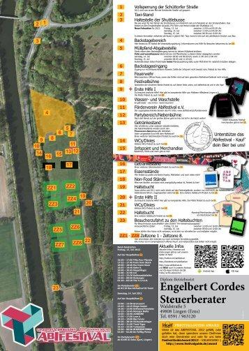 Engelbert Cordes Steuerberater - Abifestival