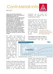 Conti-Metall-Info - Schaeffler-Nachrichten der IG Metall: Startseite