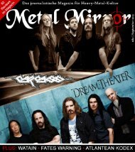 METAL MIRROR #80 - Carcass, Dream Theater, Watain, Fates ...