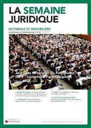 LA SEMAINE JURIDIQUE - LexisNexis