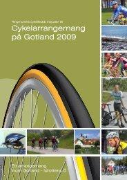 Cykelarrangemang på Gotland 2009 - Idrottens Ö