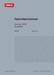 Operatørmanual